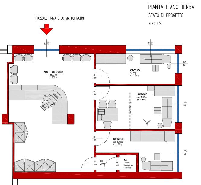 Immobiliare capital for Distaccato due piani di garage per auto