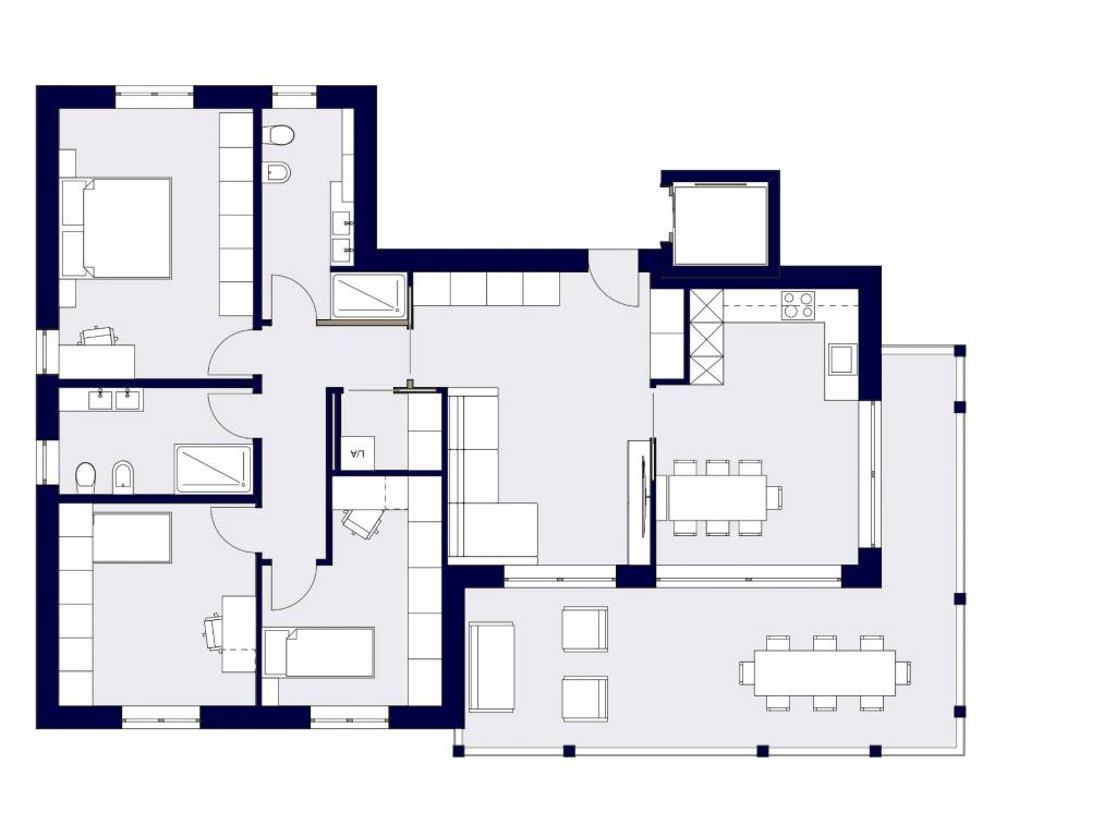 Vendita Appartamento piazza Manci a Povo-Trento